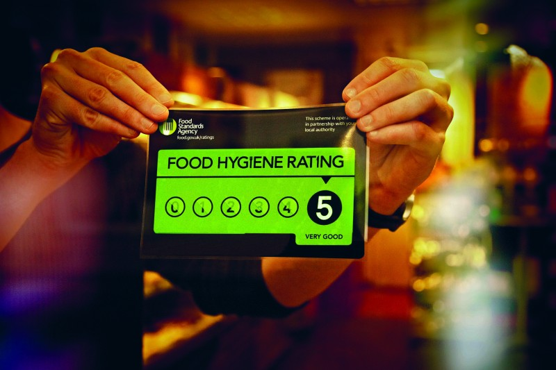 How to promote your 5 food hygiene rating